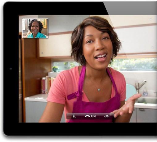 Chất lượng cuộc gọi video-call không thể xuất sắc hơn - ipad 4