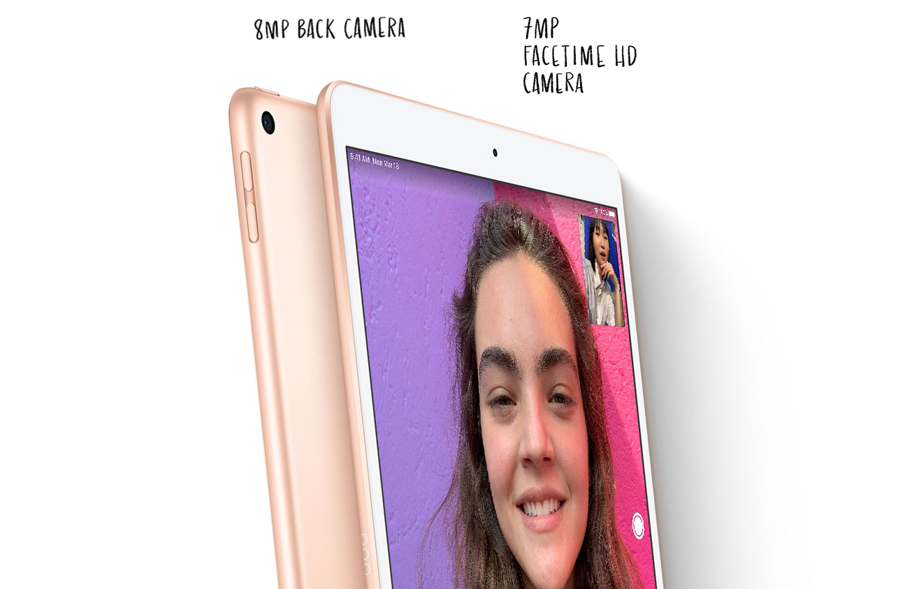 Camera sau 8MP, camera trước 7MP đem đến chất lượng hình ảnh tốt nhất cho người dùng