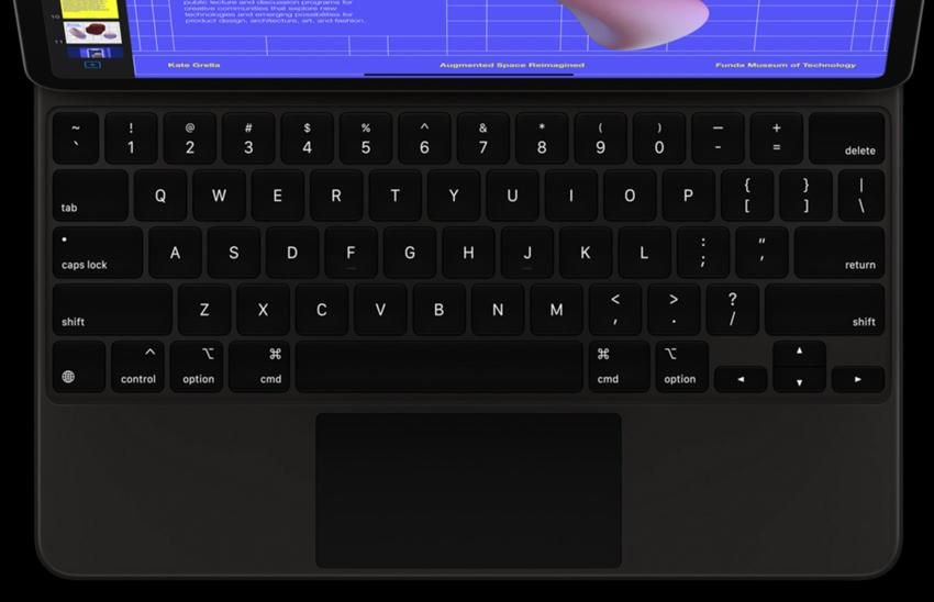 Bàn phím thiết kế đặc biệt có thêm cả trackpad