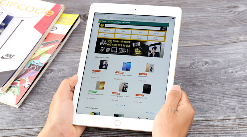 Pin là lợi thế lớn của iPad Gen 6 2018, hoạt động liên tục trong 10h