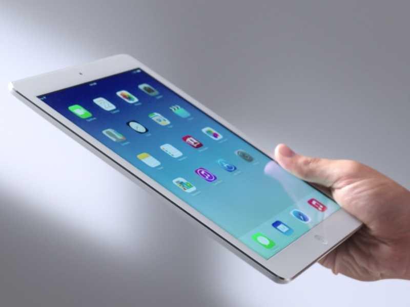 Một điểm yếu của chiếc iPad Air này là không có tuy biến cao như trên Android và Windows 8