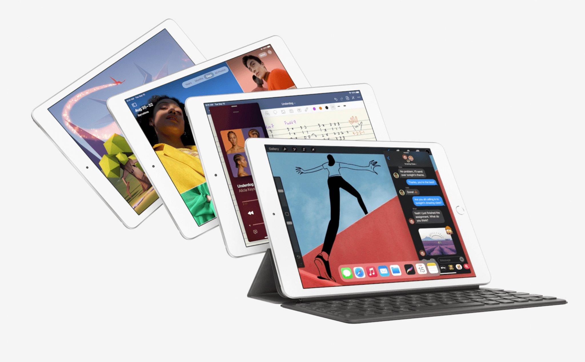 Apple iPad gen 8: thiết kế cũ, A12 Bionic, giá từ 329 USD