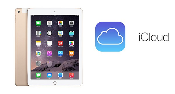 iPad chưa đồng bộ hóa iTunes nhưng có tài khoản iCloud