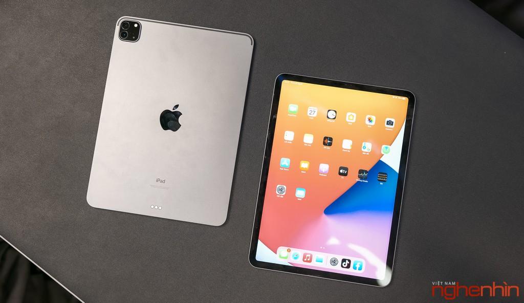 Trên tay iPad Pro M1 11 inch: giá trên 23 triệu đồng, tính năng Center Stage hữu ích ảnh 1